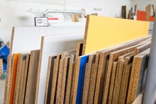 Fiberboard vs Particle Board