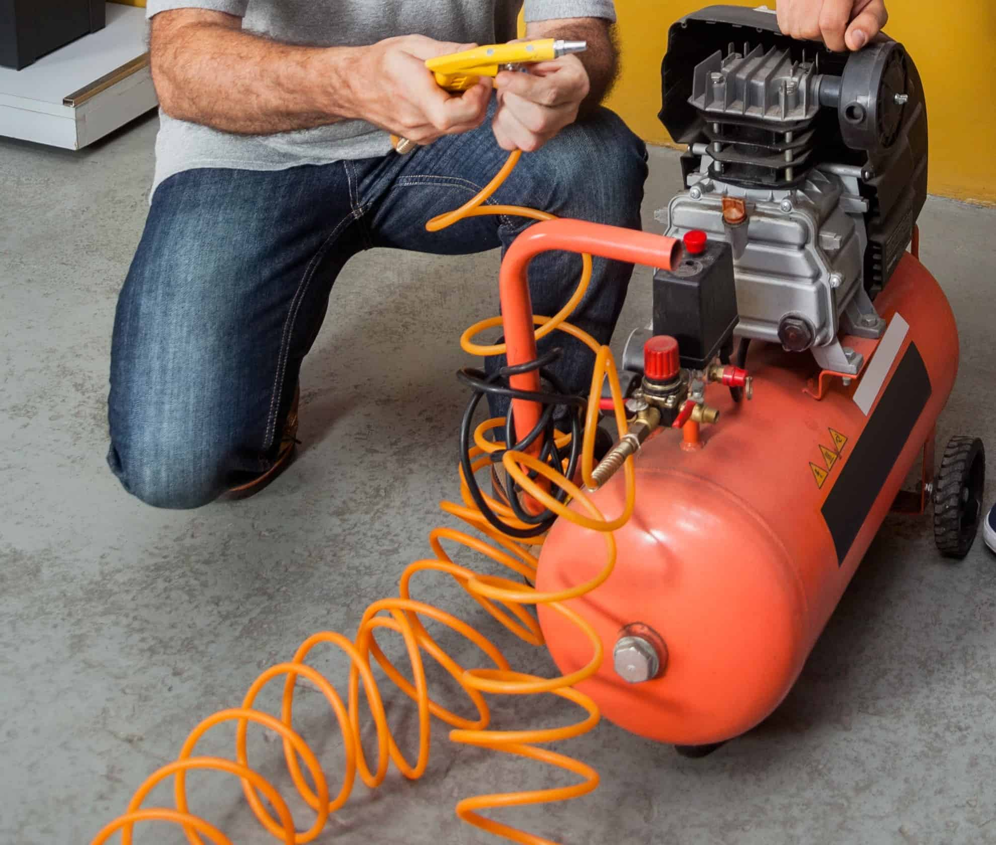 Setting up an Air Compressor