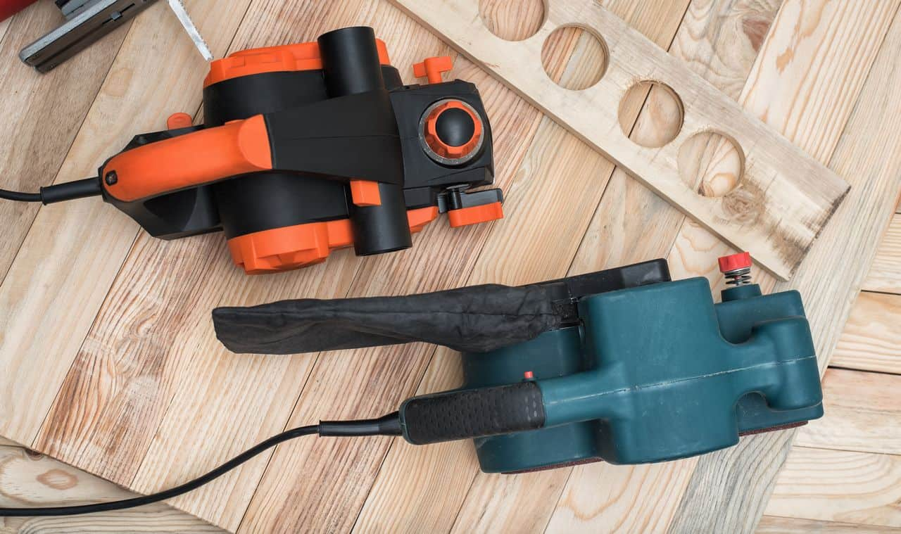 Planer and Sander power tools