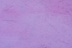 Particleboard with pink wood stain